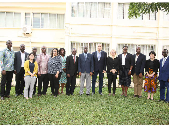 E-JUST delegation with Management of UCC