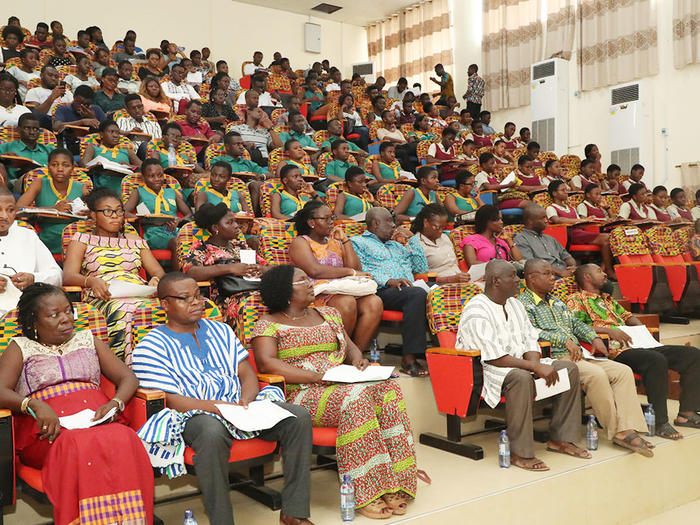 Audience at the programme